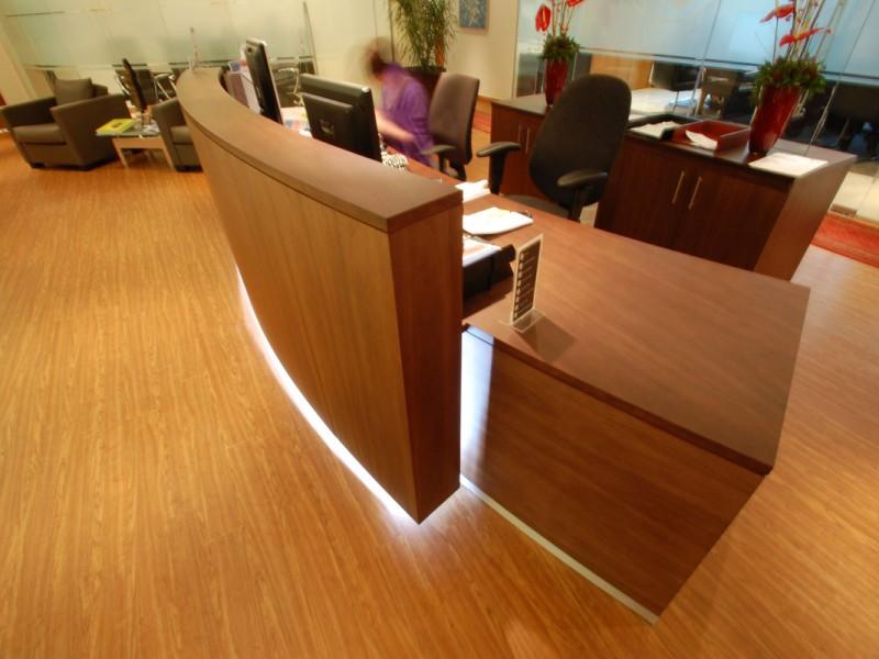 Afren Reception Counter