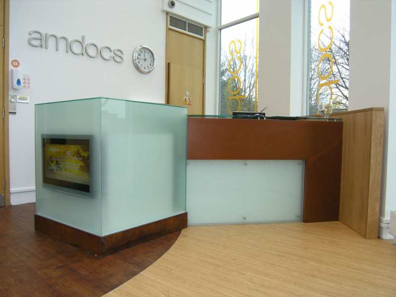 Amdocs Reception Counter