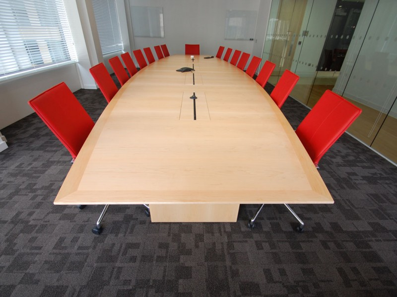 F5 Networks Boardroom Table