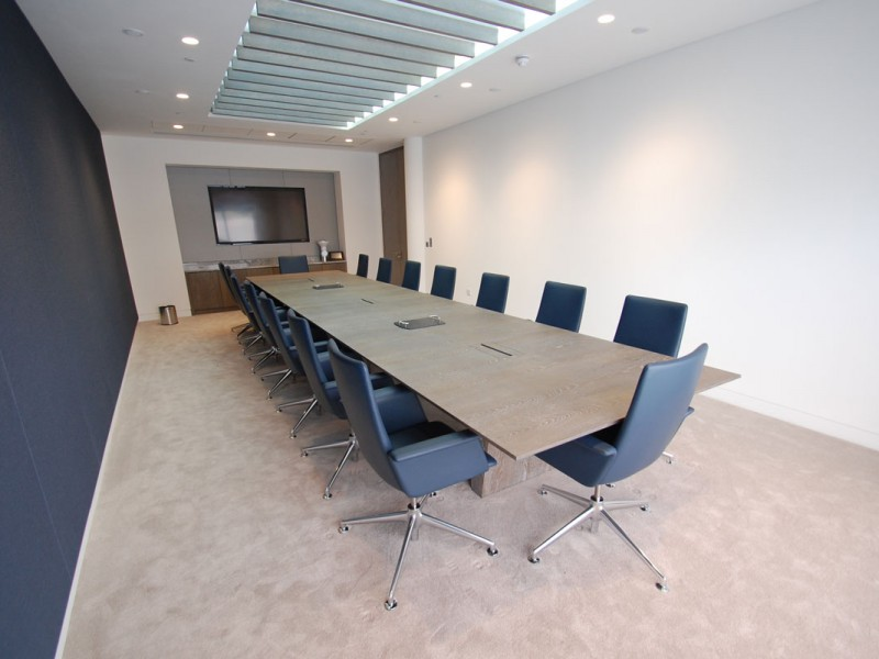 Rolls Royce Client Centre Boardroom Table