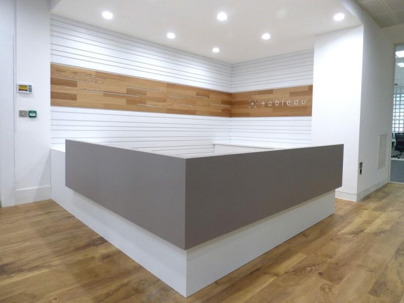 Tableau Dublin Reception Counter