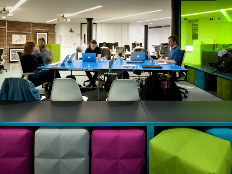 Thoughtworks Bench Seating