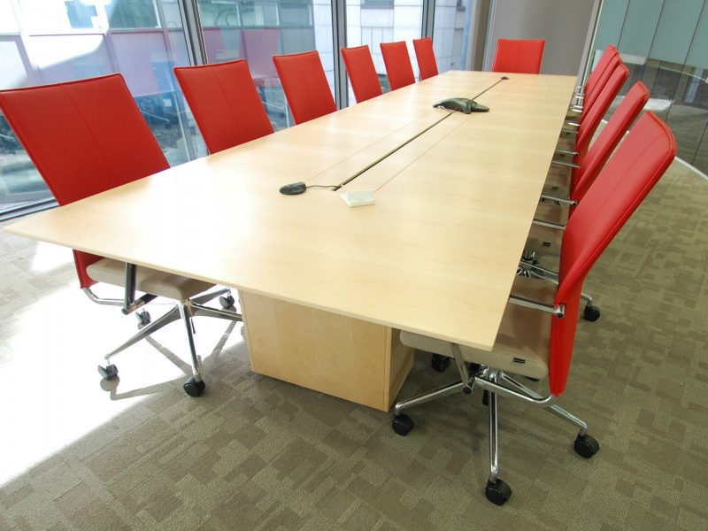 F5 Networks Meeting Table