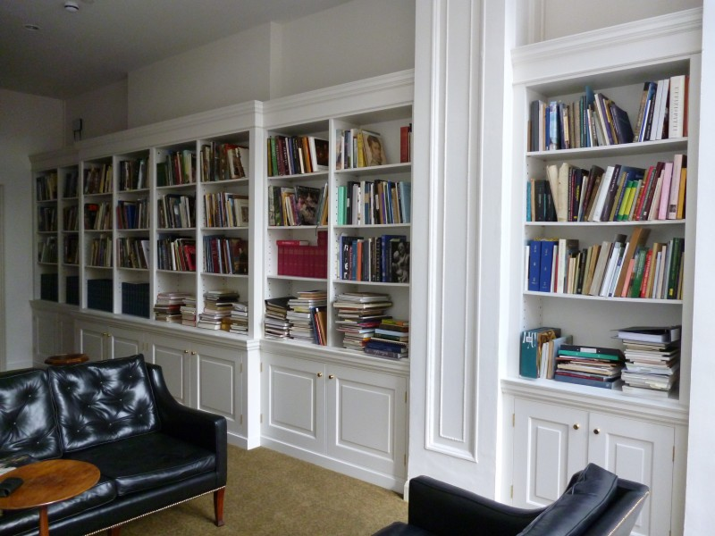 National trust bookcase joinery