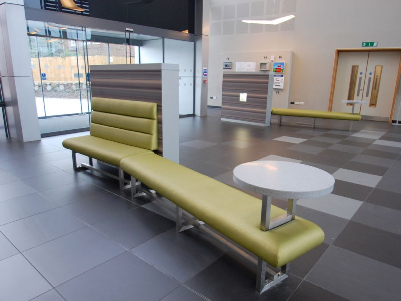 West Herts College Bench Seating