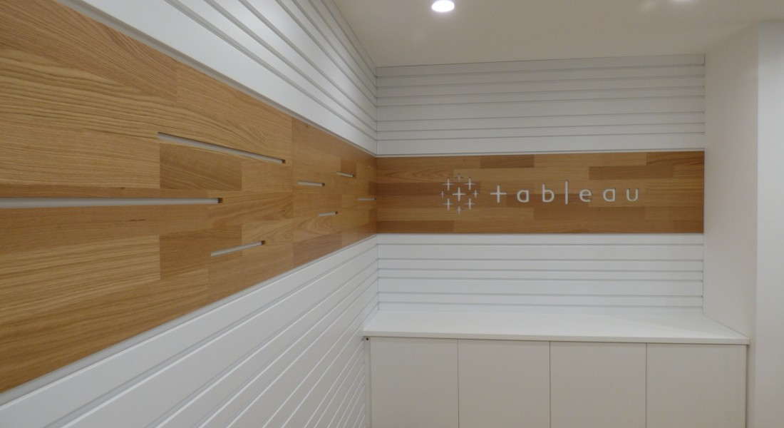 Tableau Dublin bespoke office fitout furniture