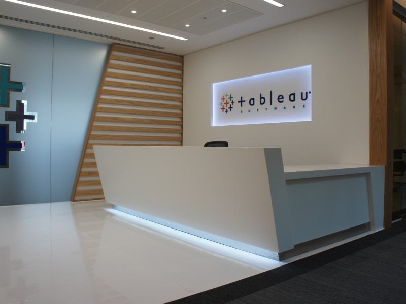 Tableau London Bespoke Reception Counter