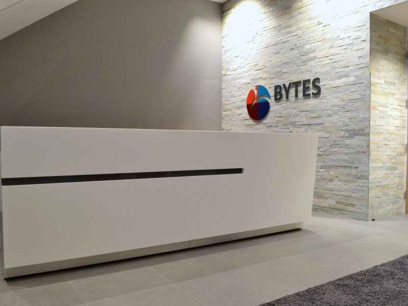Bytes Software bespoke Reception Counter
