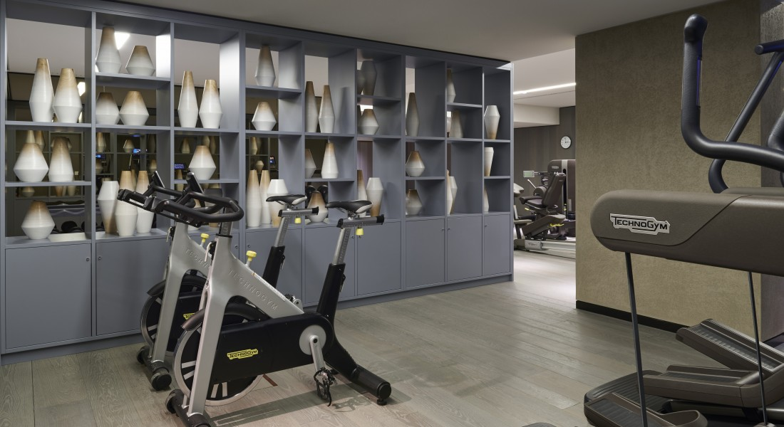 Fitzroy Place Residents Facilities Gym  Interior design: Johnson Naylor