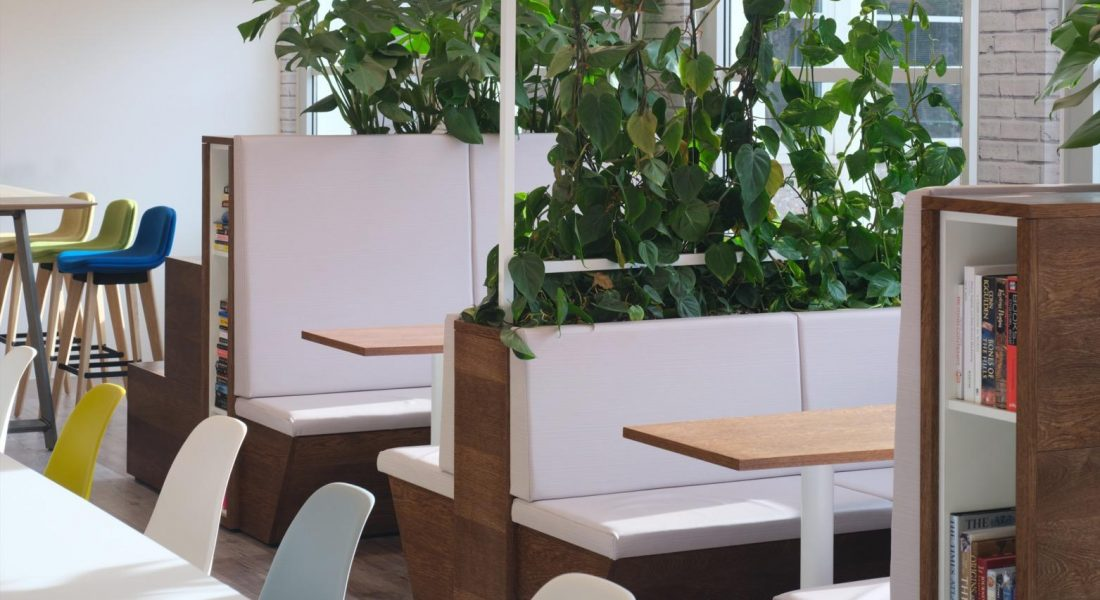 1 Sage Booth Seating