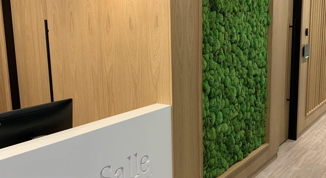 1a La Salle Reception Detail